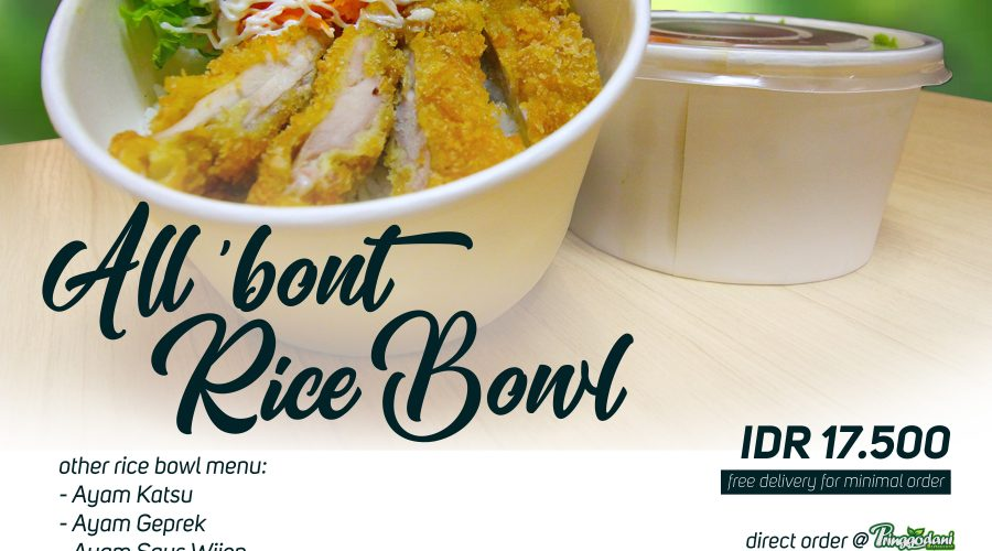 ALL 'BOUT RICE BOWL